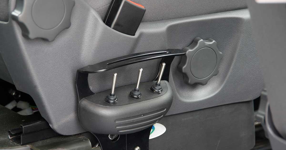 PKW Umbau Elektrischer Fahrersitz