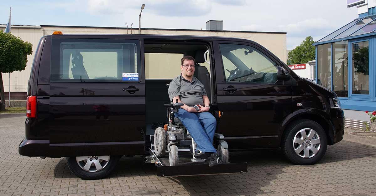 PKW Umbau Rollstuhllift, Rollstuhlrampe